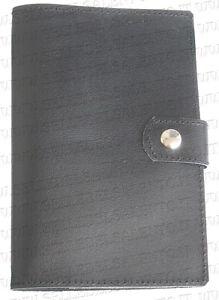 foto ufficiali 0bbef 22a82 Dettagli su Portadocumenti porta libretto auto moto scouter vera pelle  bottone e fascetta