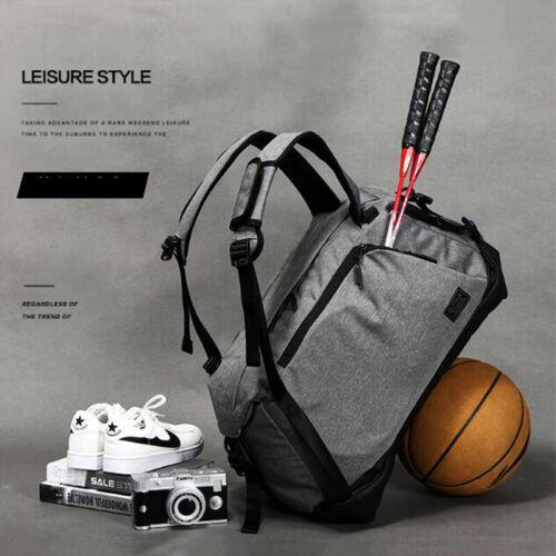 Gym Fitness Duffle Bag Sport Yoga Racquet Travel Shoulder Backpack Handbag