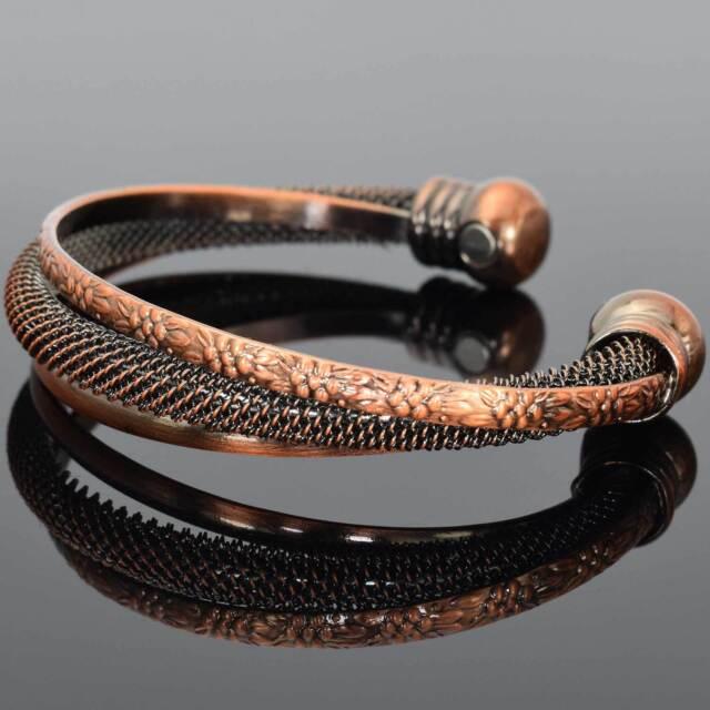 Bracelets Health Copper Zinc Alloy