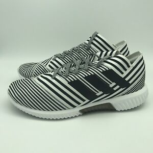 ef5269c811b5 BB3659 Adidas Nemeziz Tango 17.1 Men Indoor Soccer Shoes White Black ...