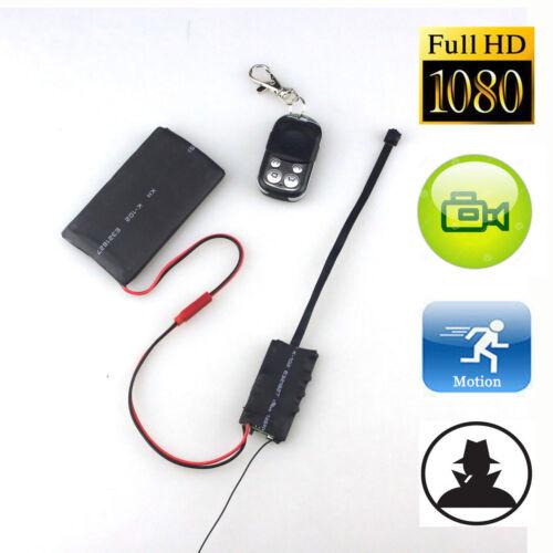 Full HD 1080P DIY Module Spy Hidden DVR Camera S01 Camcorder Remote Control