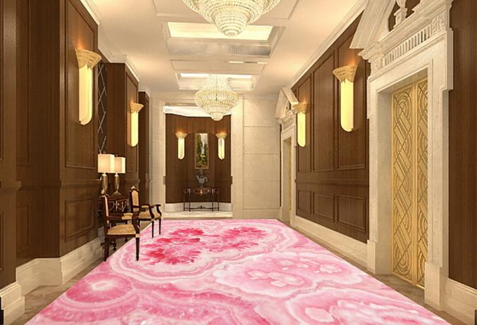 3D Marble Pattern 80 Floor WallPaper Murals Wall Print Decal 5D AU Lemon