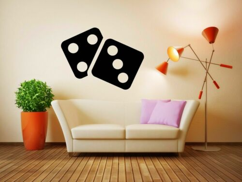 Wall Vinyl Sticker Room Decals Mural Design Art Casino Game Chip Play  bo1993