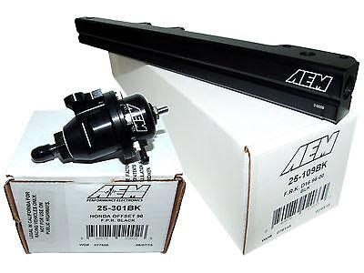 Adj Pressure Regulator for Honda Civic Del Sol D16Y8 High Volume Fuel Rail