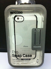 Incase Pro Snap Clear Hard Cover Case w/Black Grip Bumper fo iPhone SE iPhone 5s