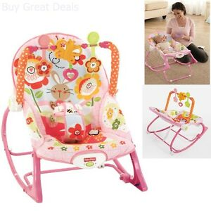 de57ac4d352 Image is loading NEW-Fisher-Price-Infant-To-Toddler-Bouncer-Portable-