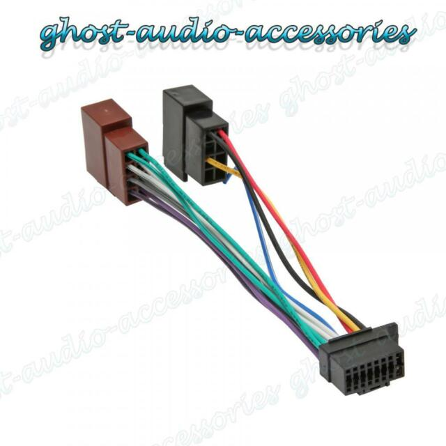 Sony 16 Pin Car Stereo Radio Iso Wiring Harness Connector