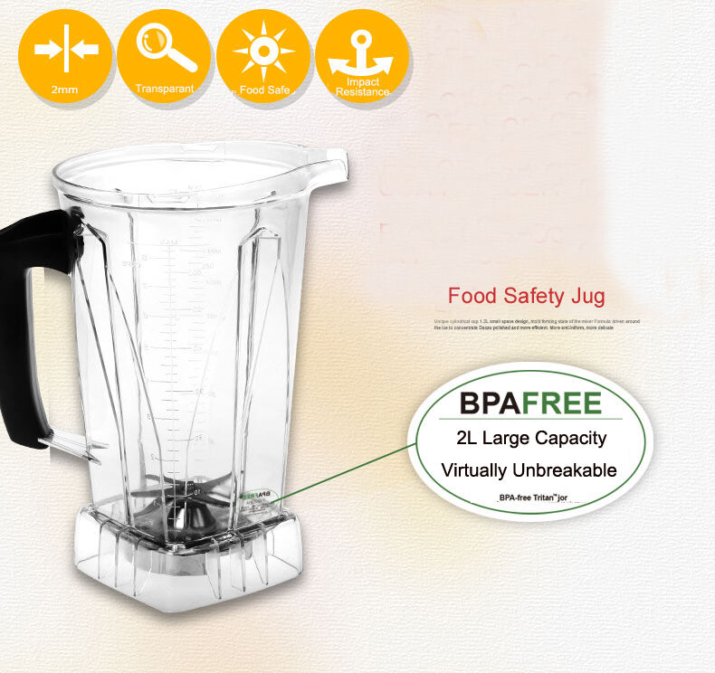 Spare Jug Jar Container for Enpee Exact Blender 2L BPA Free also Vitamix TNC NEW