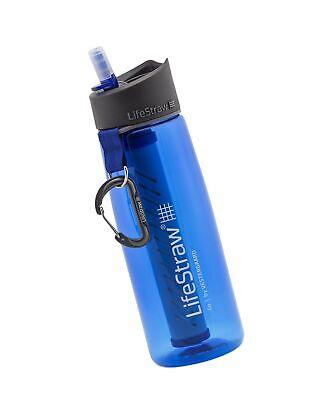 4X GENUINE LIFESTRAW GO BOTTLE LIFE STRAW PORTABLE OUTDOOR WATER FILTER BPA FREE