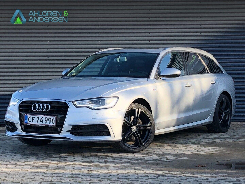 Audi A6 3,0 TDi 204 S-line Avant Multitr. 5d