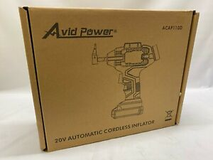 Avid Power Tire Inflator Air Compressor 20V Lithium Battery ACAP110D - NEW