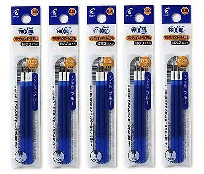 Pilot Japan FriXion Ball 2 Biz Gel Pen Refill 0.38mm Blue 2-Pack