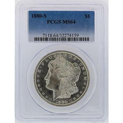 1880-S PCGS MS64 Morgan Silver Dollar Lot 676