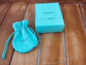 Tiffany-amp-Co-Kette-Halskette-Schmuck-Damen-Sterling-silber-925-Schmuckbeutel