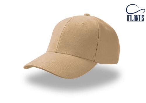 ATLANTIS cappello PILOT cappellino COTONE pesante BASEBALL caps HAT
