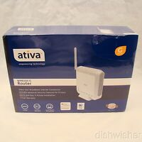 Ativa AWGR54 4-Port 10/100 Wireless G Router Routers