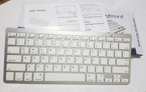 Bluetooth 3.0 Wireless BLACK Keyboard for Apple iPad Mac Computer PC Macbook