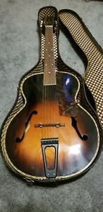 Vintage-WWII-1944-Harmony-Marvel-Leader-362n968-Archtop-Guitar-MAKE-ME-AN-OFFER