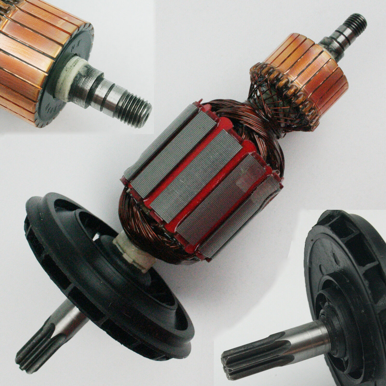 Anker Rotor Läufer für Bosch GBH 5-40 DE , GBH 5-40 DCE , GSH 5 E , GSH 5 CE