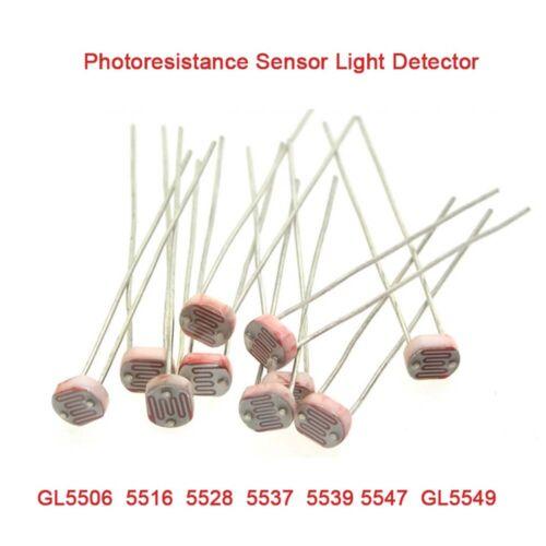 Photoresistance GL5506//5516//5528//5537//5539//5547//GL5549 Sensor Light Detector