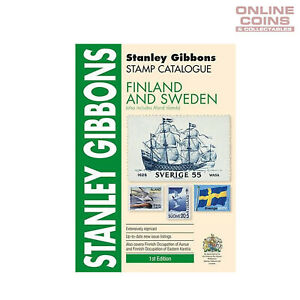 2017-Stanley-Gibbons-Stamp-Catalogue-Finland-and-Sweden-Soft-Cover-Book-1st-Ed