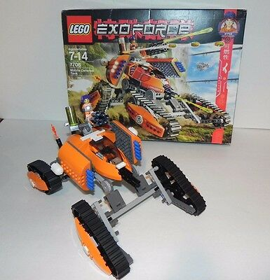 LEGO 7706 EXO-FORCE ~ MOBILE DEFENSE TANK PRE OWNED  w ORIGINAL BOX - COMPLETE