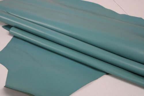 BABY BLUE LEATHER Cowhide Leather Slightly Firm//3 oz 3.5 oz 1.2-1.4mm