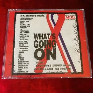 Artists-Against-AIDS-Worldwide-What-039-s-Going-On-cd-single-Bono-U2-NAS-NELLY