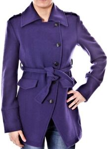 Abrigos mujer violeta