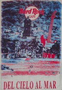 Hard-Rock-Cafe-PUERTO-VALLARTA-1990s-Guitar-White-HEAVY-Tee-T-SHIRT-XL-23-034-x21-5-034