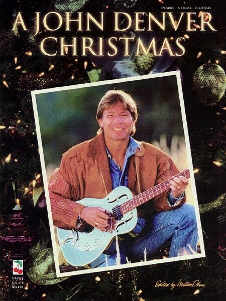 John Denver Christmas.A John Denver Christmas Sheet Music Piano Vocal Guitar Songbook New 002500002