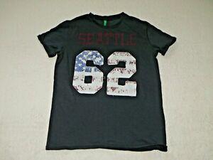 United Colors of Benetton Jungen  T-Shirt  Gr. 140 / 146 Top Zustand