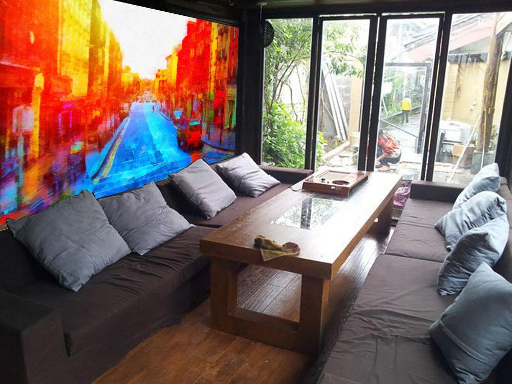 3D Sunrise City 1 WallPaper Murals Wall Print Decal Wall Deco AJ WALLPAPER