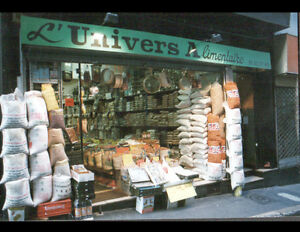 MARSEILLE-13-Devanture-de-COMMERCE-EPICERIE-034-L-039-UNIVERS-ALIMENTAIRE-034-en-1994