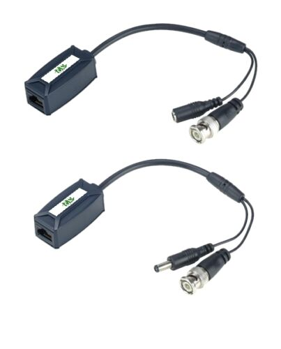 TTP111VP-LK CCTV BALUN DIY Kit Video /& Power Transceiver over one CAT5 Cable