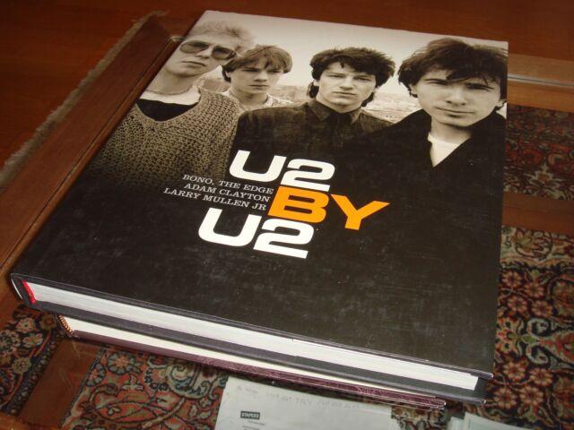 New U2 By U2 Hard Cover Book Musicians Band Bono The Edge Photos