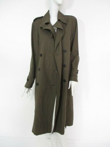 10 Mac Coat Womens Fit Saints 8 All Everly Khaki Oversized Cotton £278 Stunning IaPTAw