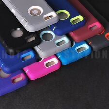 """10/Lot FOR 4.7"""" iPhone 6 Built in Screen Film Rubber Hard Colorful Case Cover"""