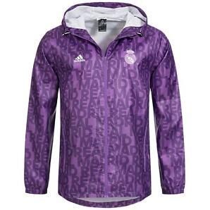 Real Madrid adidas Herren Windbreaker Jacke AY2826 Fußball Jacket S M L XL XXL