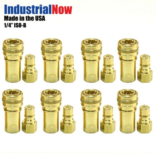 """8 Sets Quick Disconnect Couplers for Carpet Cleaning Extractor Wands Hose 1//4/"""""""