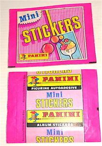 bustina pacchetto figurine BARBIE 1989 Panini italy pack sticker misb