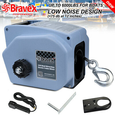 Portable Electric Winch Truck Tow Cable Rc Boat Marine