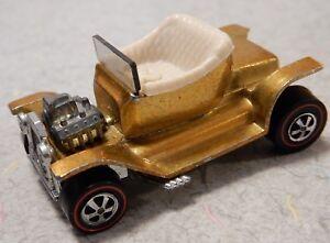 Vintage-1968-Hot-Wheels-HOT-HEAP-Redline-Car