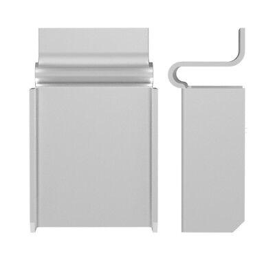 Rolltrak Spares FLUSH FLYSCREEN CLIP OFFSET 3736B100 1mm 100Pcs CLEAR*Aust Brand