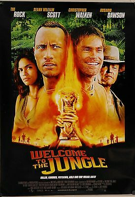 100% Wahr G30113 Kinoplakat - Welcome To The Jungle / The Rundown Dwayne Johnson Gerollt