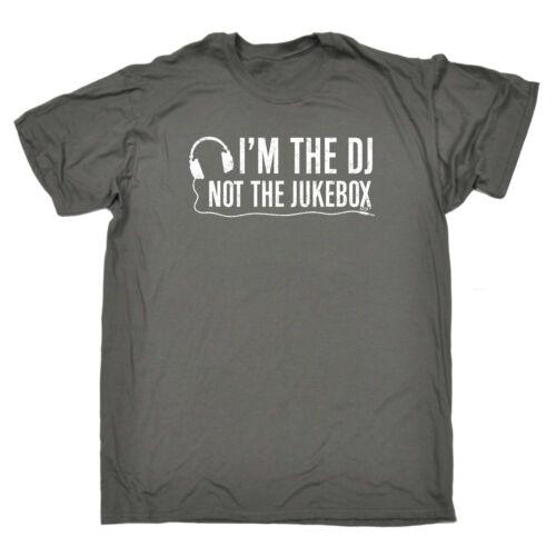 Banda musicale T-shirt Divertenti Novità T-Shirt Maglietta da uomo-IM il DJ non IL JUKE-BOX