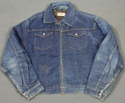 Vintage Montgomery Ward 101 Blanket Lined Jean Den