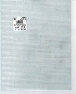 2 Sheets / Pcs PLASTIC CANVAS 7 Mesh 10.5 X 13.5 Darice  YOU PICK COLORS (#1023)
