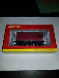 OO gauge Hornby R6727A LMS Horse Box '42442' Wagon boxed