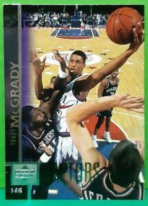 Tracy Mcgrady rookie card 1997-98 Upper Deck #300